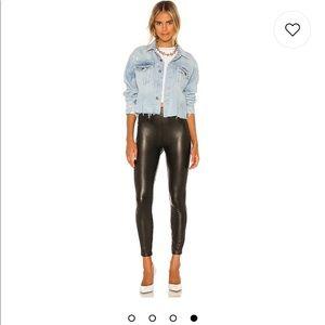 Spanx Like Leather Skinny Pants in Noir